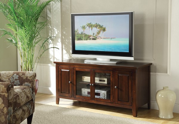 Acme Furniture Christella Chocolate TV Stand ACM-10346