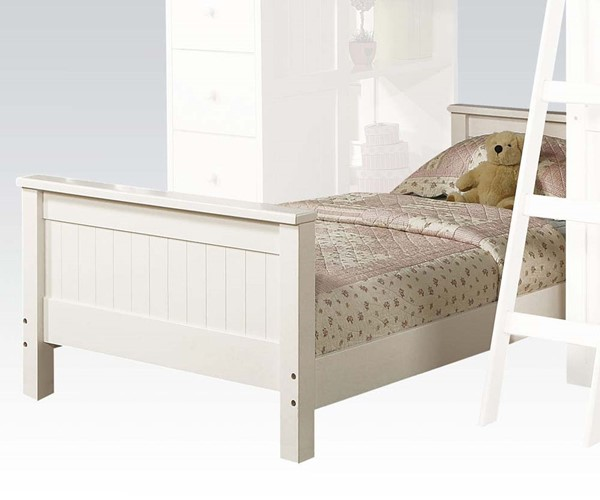 Willoughby Classic White Twin Bed ACM-10978A