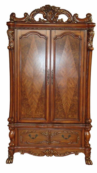 Acme Furniture Dresden Cherry Oak TV Armoire ACM-12147
