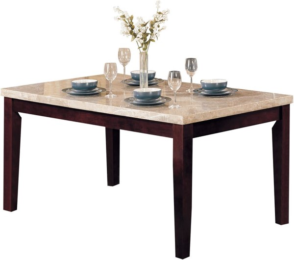 Acme Furniture Britney White Walnut Dining Table ACM-17058