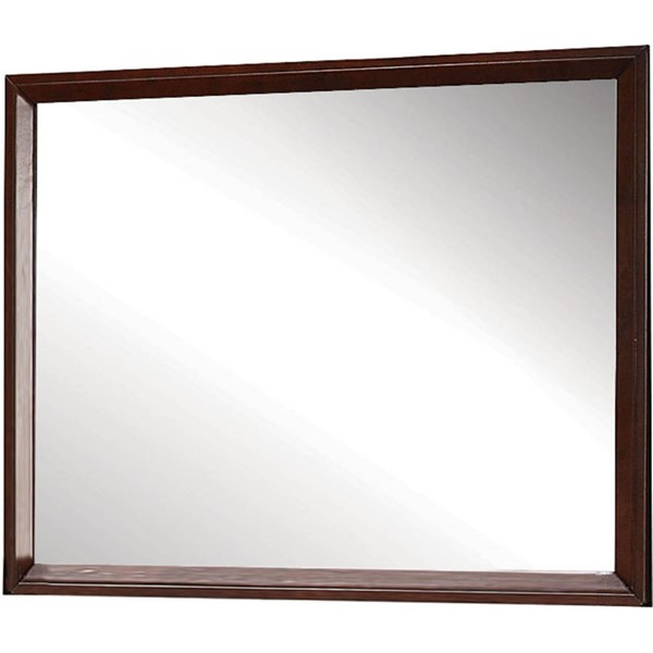 Acme Furniture Ilana Brown Cherry Mirror ACM-20404