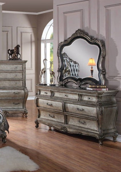Acme Furniture Chantelle Dresser and Mirror ACM-20544DM