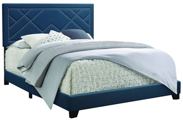 Acme Furniture Ishiko Dark Teal Beds ACM-208-BED-VAR