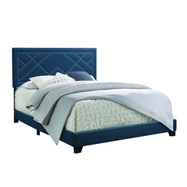 Acme Furniture Ishiko Dark Teal Queen Bed ACM-20860Q