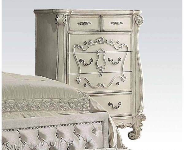 Versailles Traditional Bone White Wood Chests ACM-21136-DC-VAR