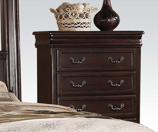 Roman Empire II Traditional Cherry Wood Chest ACM-21349