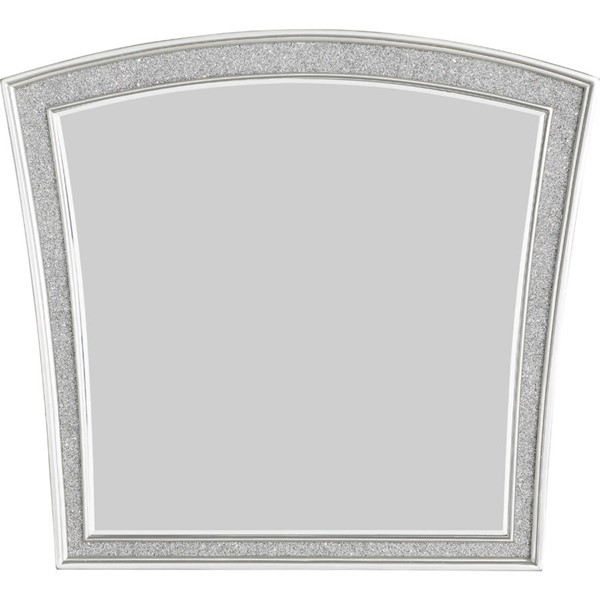 Acme Furniture Maverick Platinum Portrait Mirror ACM-21804