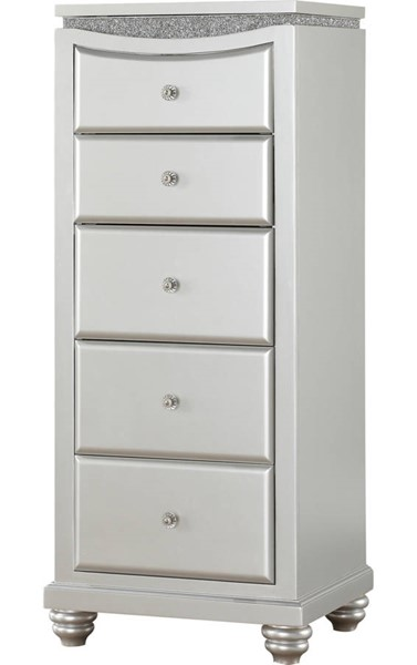 Acme Furniture Maverick Platinum Lingerie Chest ACM-21807