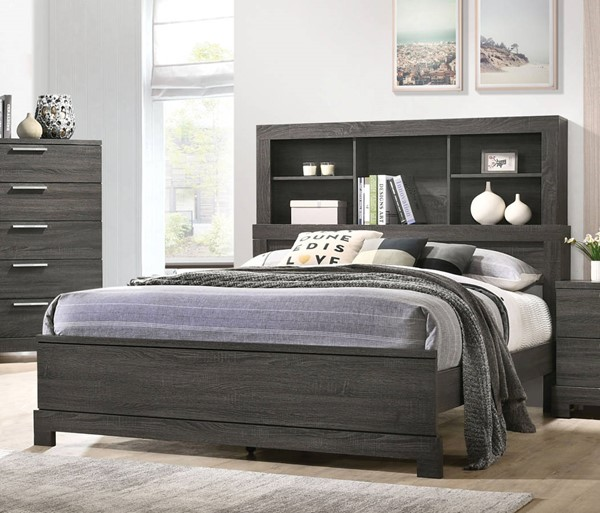 Acme Furniture Lantha Gray Beds ACM-220-BED-VAR