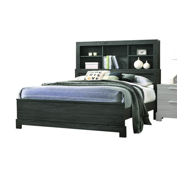 Acme Furniture Lantha Gray Queen Bed ACM-22030Q