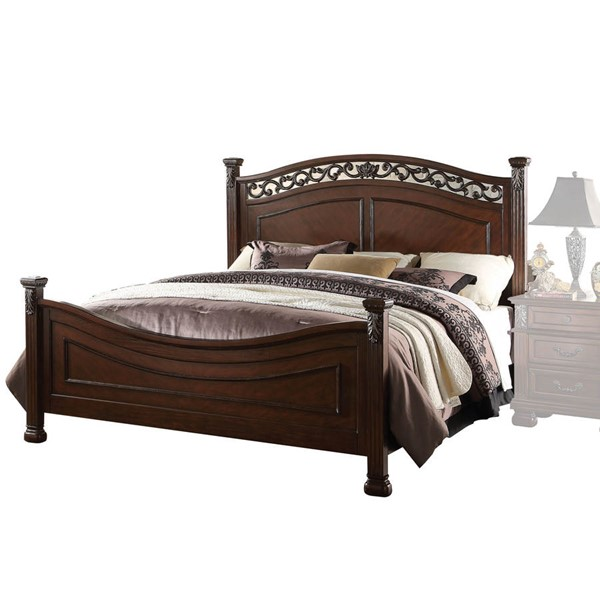 Acme Furniture Manfred Dark Walnut Queen Bed ACM-22770Q