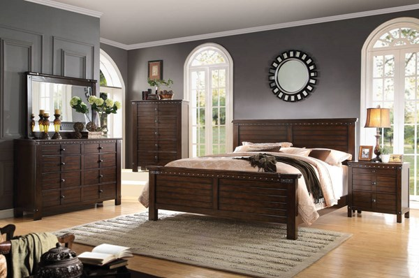 Acme Furniture Brooklyn Espresso Master Bedroom Set ACM-2368-BR