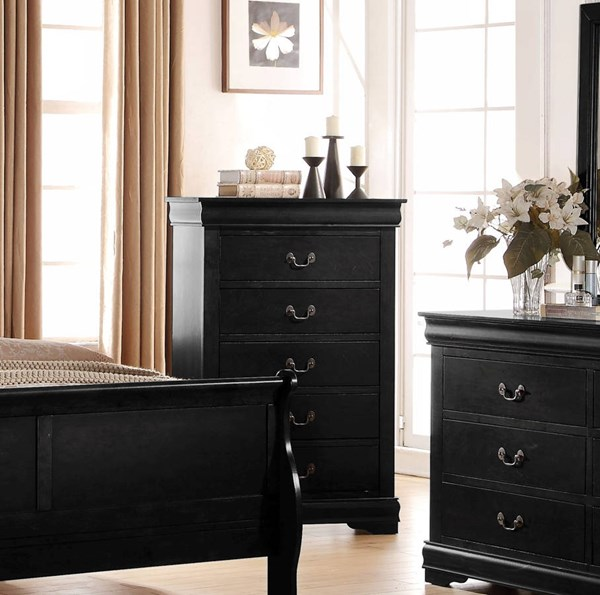 Louis Philippe Casual Pine Solid Wood MDF Chests ACM-237-DC-VAR