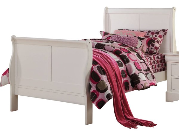 Acme Furniture Louis Philippe III White Twin Bed ACM-24515T