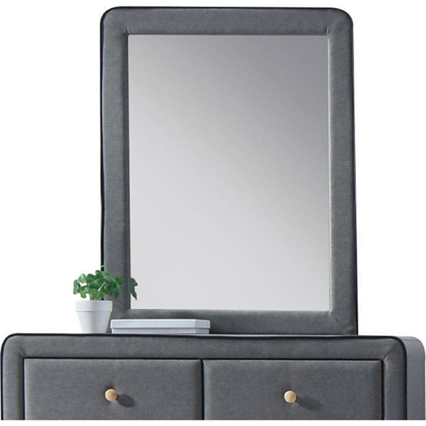 Acme Furniture Valda Light Gray Mirror ACM-24524