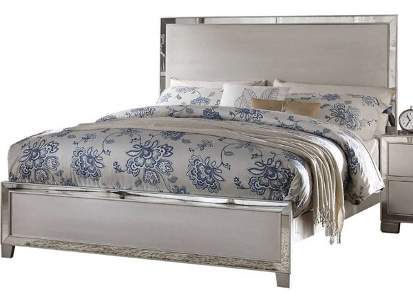 Acme Furniture Voeville II Platinum Queen Bed ACM-24840Q