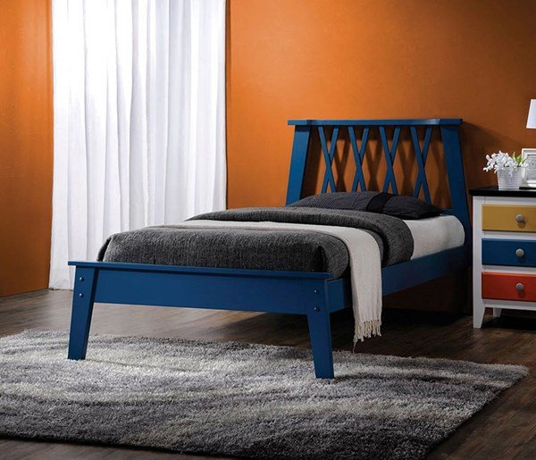 Moffett Wood Beds w/Low Profile Footboard ACM-2538-BED-VAR