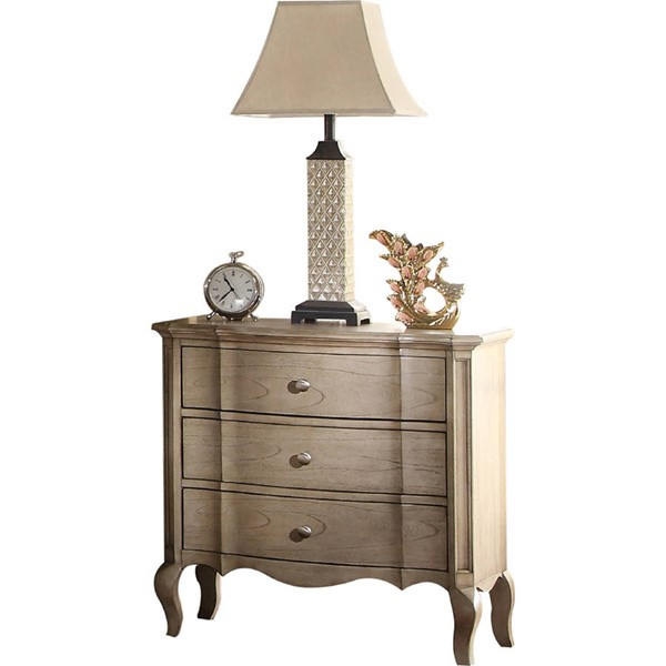 Acme Furniture Chelmsford Antique Taupe Nightstand ACM-26053