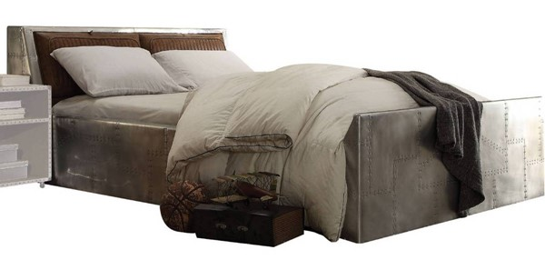 Acme Furniture Brancaster Retro Brown Queen Storage Bed ACM-26220Q