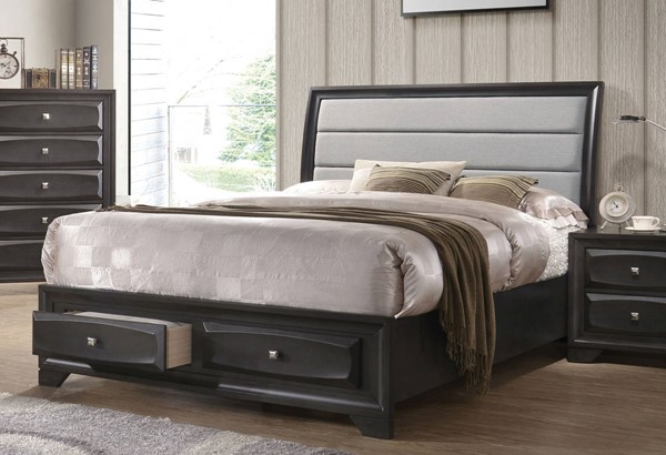 Acme Furniture Soteris Antique Gray Beds ACM-265-BED-VAR