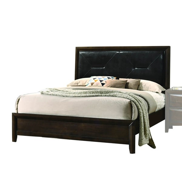Acme Furniture Brenta Walnut King Bed ACM-26637EK