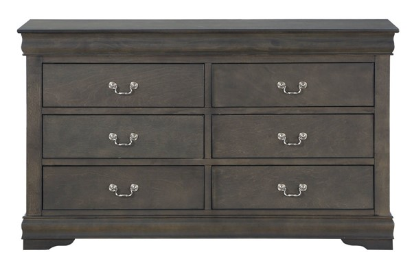 Acme Furniture Louis Philippe Dark Gray Dresser ACM-26795