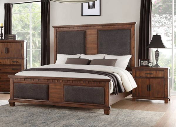 Acme Furniture Vibia Cherry 2pc Bedroom Set with Queen Bed ACM-27160Q-BR-S2