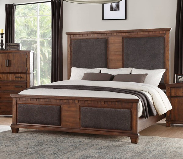 Acme Furniture Vibia Cherry Queen Bed ACM-27160Q