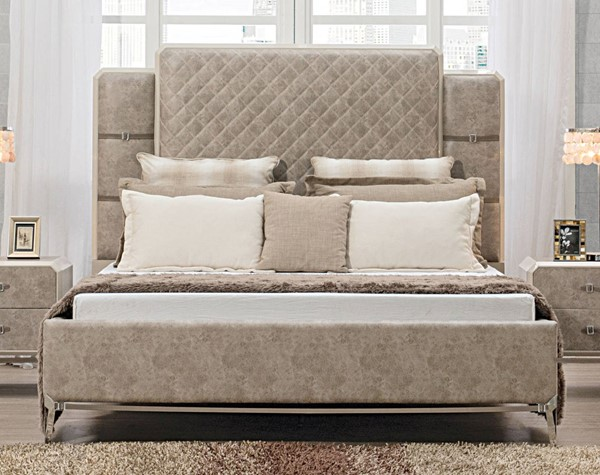 Acme Furniture Kordal Vintage Beige Beds ACM-271-BED-VAR