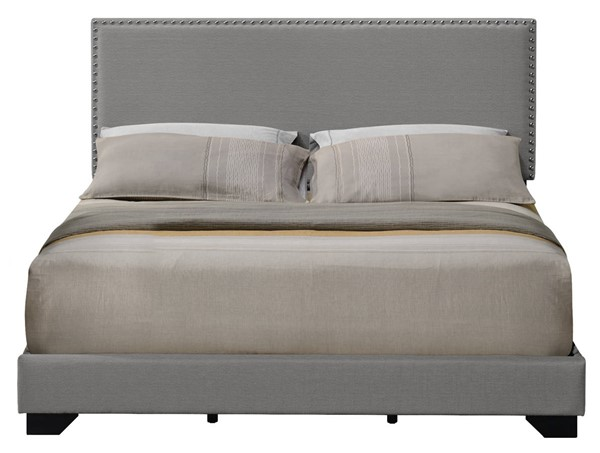 Acme Furniture Leandros Light Gray Queen Bed ACM-27430Q