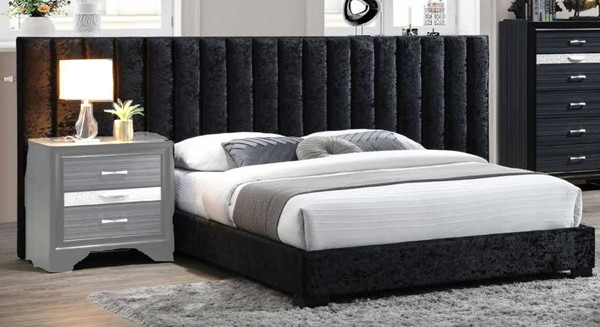 Acme Furniture Rivas Black Beds ACM-277-BED-VAR