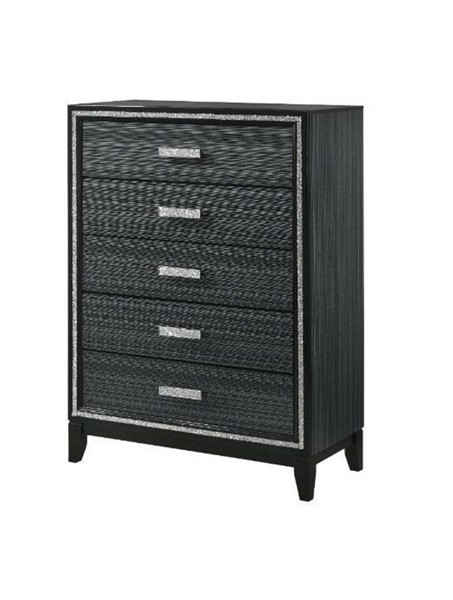 Acme Furniture Haiden Weathered Black Chest ACM-28436