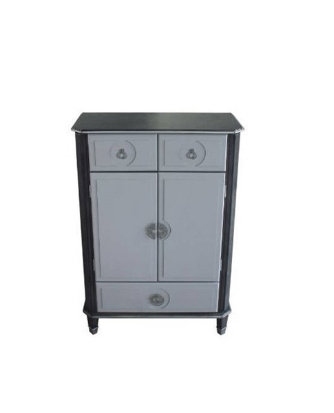 Acme Furniture House Beatrice Charcoal Light Gray Chest ACM-28816