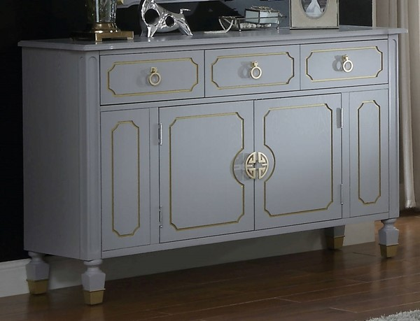 Acme Furniture House Marchese Pearl Gray Dresser ACM-28865