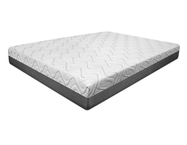 Acme Furniture Opal White 10 Inch Gel Memory Queen Mattress ACM-29302