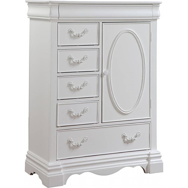 Acme Furniture Estrella White Chest ACM-30246