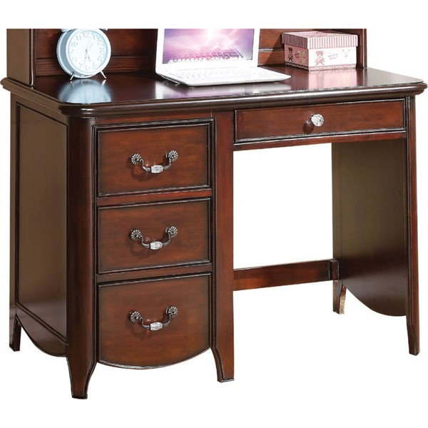 Acme Furniture Cecilie Cherry Computer Desk ACM-30287