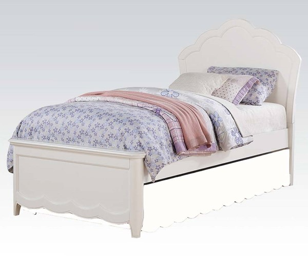 Acme Furniture Cecilie White Twin Bed ACM-30310T