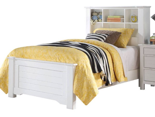 Acme Furniture Mallowsea White Twin Bed ACM-30410T