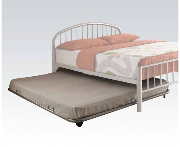 Cailyn Silver Metal Full Trundle w/Casters ACM-30468SI
