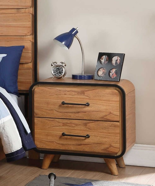 Acme Furniture Carla Oak Nightstand $205.00