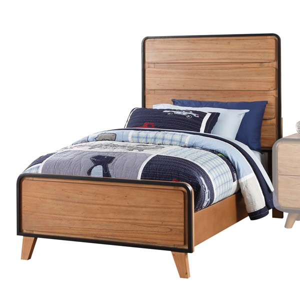 Acme Furniture Carla Oak Twin Bed ACM-30760T