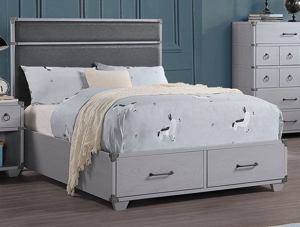 Acme Furniture Orchest Gray Full Storage Bed ACM-36135F