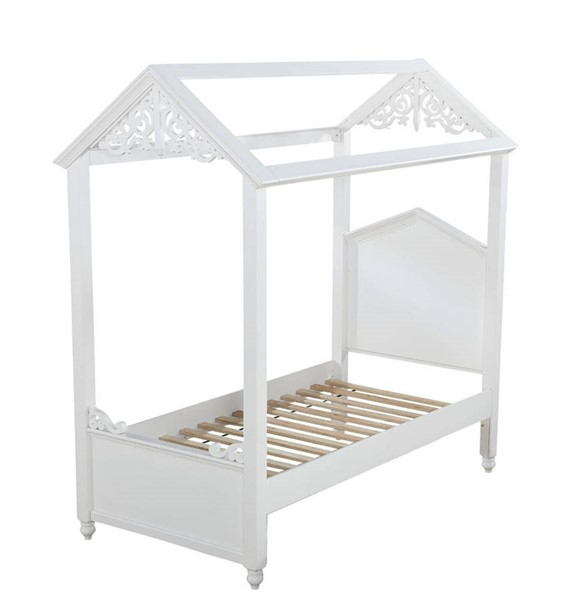 Acme Furniture Rapunzel White Beds ACM-373-KBD-VAR