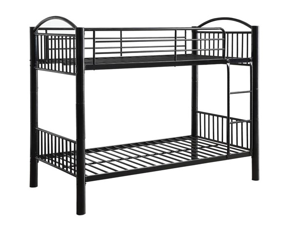 Acme Furniture Cayelynn Black Twin Over Twin Bunk Bed ACM-37385BK