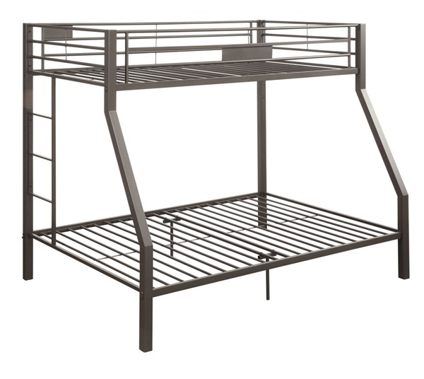 Acme Furniture Limbra Brown Twin Over Full Bunk Bed ACM-37510