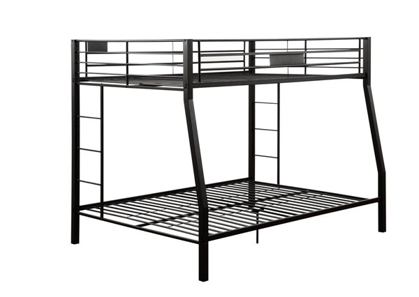 Acme Furniture Limbra Sandy Black Full XL Over Queen Bunk Bed ACM-38005