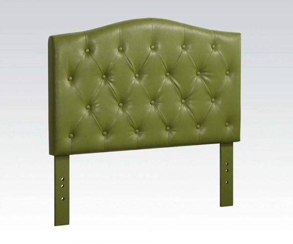 Viola Contemporary Green PU Queen/Full Headboard Only ACM-39125