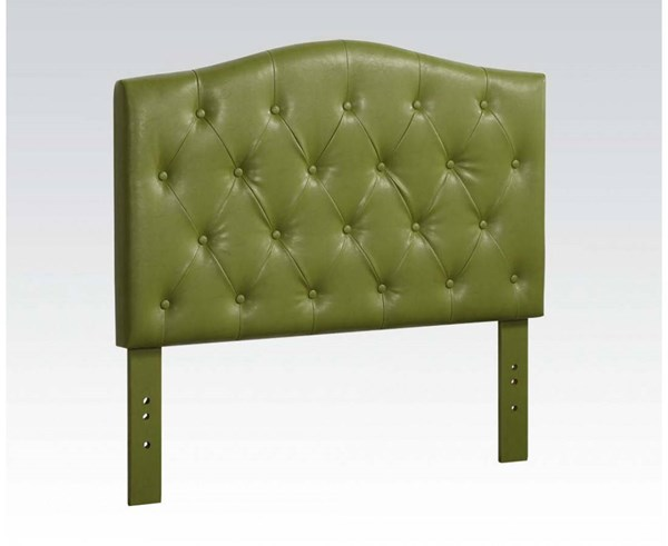 Viola Contemporary Green PU Twin Headboard Only ACM-39126