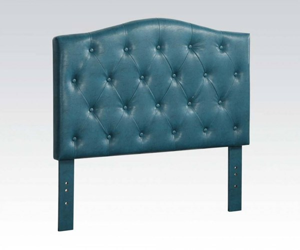 Viola Contemporary Blue PU Queen/Full Headboard Only ACM-39127